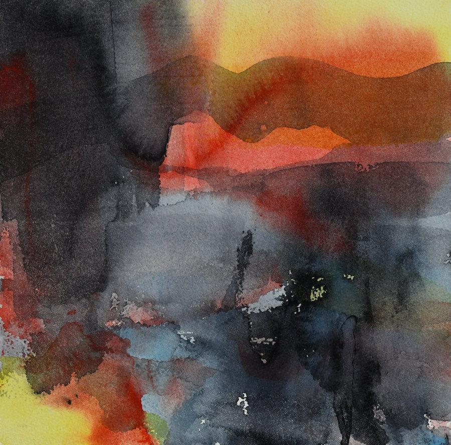 Abstrakt  (30 x 30 cm) 3600 kr