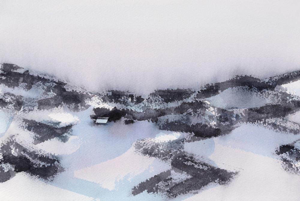 Vinter (24 x 36 cm)