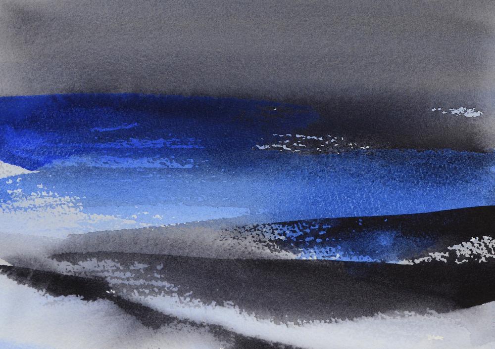 Snøbyger (19 x 28 cm)
