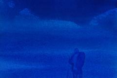Skiløper (29 x 23 cm) 4.000 kr