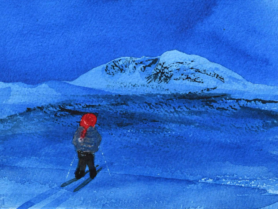 3) Nisse ved Snøhetta