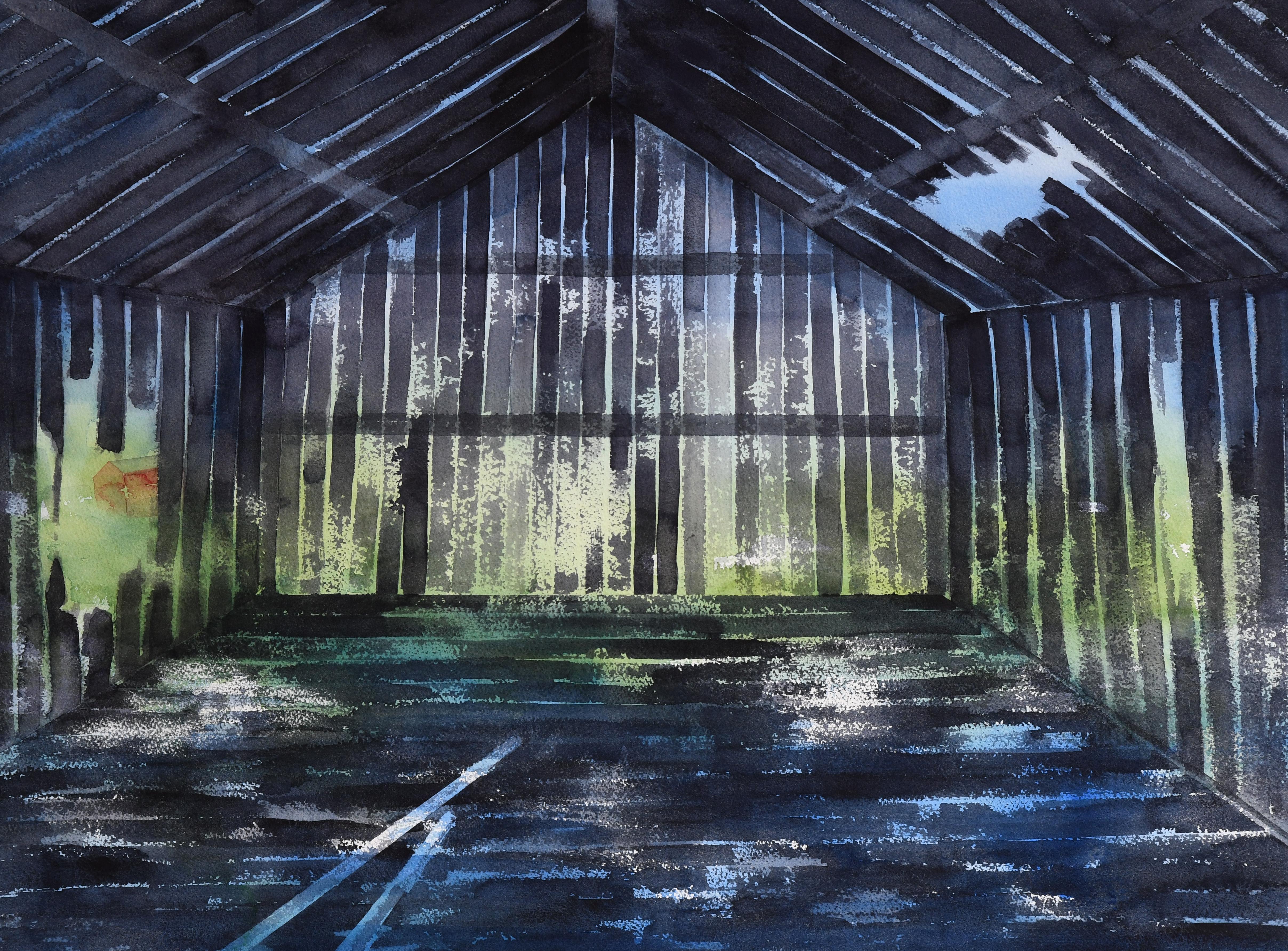 Interiør  (55 x 73 cm)
