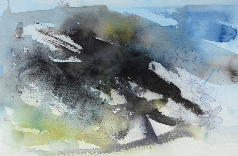 Hvitveis (32 x 50 cm) 6900 kr