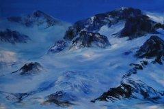 Alpin sone (90 x 120 cm) 16.000 kr (maleri)