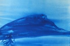 Skeikampen (38 x 53 cm) 7100 kr
