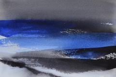Snøbyger (19 x 28 cm) 2500 kr