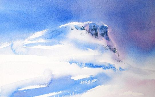 Maleri og akvareller på Skeikampen